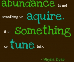 Clutter Attitude Adjustment: from Scarcity to Abundance