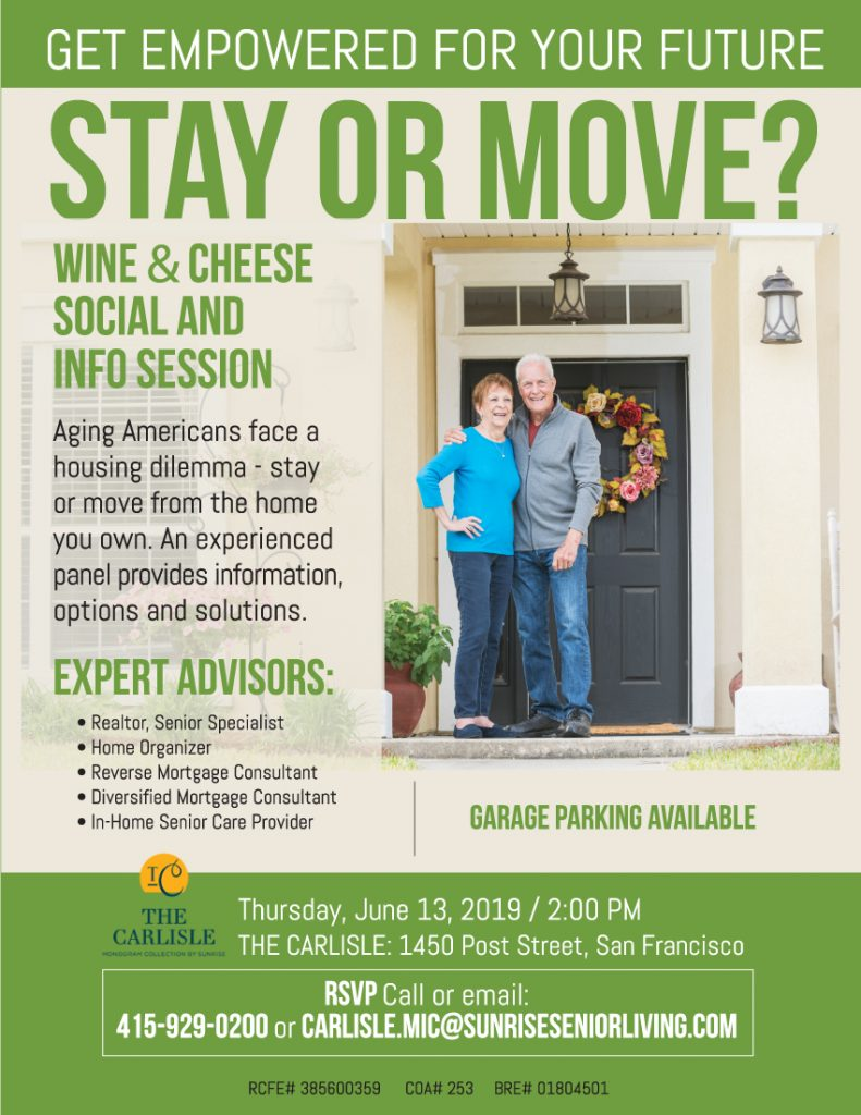 The Aging Dilemma - When to Downsize - Make the Decision with Ease